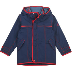 Finkid Joiku Outdoor Parka Kinderen, navy/red